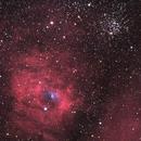NGC7635-M52  -  Premier test de la C3-61000 Get