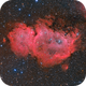 IC1810 Soul Nebula LRGB - Data shared by Oscar,                                Marco Favro