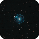 Cat's eye nebula,                                kpdvm