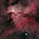 Rim Nebula NGC6188 Fighting Dragons,                                Gerard O'Born
