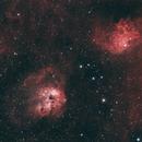 Flaming Star Nebula Widefield,                                Matthew McLaughlin