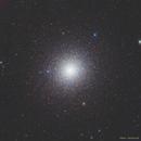 47 Tucanae with half another globular cluster,                                Simas Šatkauskas