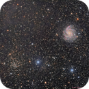 "Galaxy NGC 6946 ""Fireworks"" - NGC 6939 + IFN (TSA102/AtikOne),                                Jean-Baptiste Auroux"