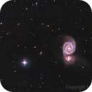 M51 - Whirlpool Galaxy,                                turbolord
