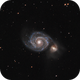 M51 - The Whirlpool Galaxy,                                Tanguy Dietrich
