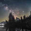 Milky way at Fedare's Lake,                                Davide De Col