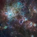 NGC2070 - Tarantula Nebula in SHO (Multi Layer),                                Janco