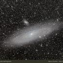 M31 from Colle dell'Agnello,                                Marco Gulino