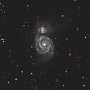 Whirlpool Galaxy,                                apophis