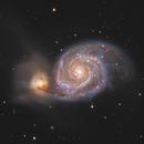 M51 - The Whirlpool Galaxy,                                Drew Evans