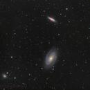M81 und M82 with Supernova,                                tobiassimona