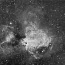 Swan nebula M17,                                ag1964gkk