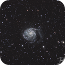 M101 -  Ha+LRGB and many questions :),                                Ivaylo Stoynov