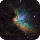 sh2-142 / NGC7380- The Wizard Nebula and open cluster in Cepheus,                                Daniel.P