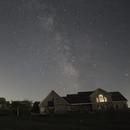 Backyard Lightning Bugs and Milky Way (Untracked),                                Brandon Tackett