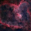 The Heart Nebula, IC 1805, Sharpless 2-190,                                Emmanuel