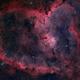 The Heart Nebula, IC 1805, Sharpless 2-190,                                Emmanuel  Malakop...