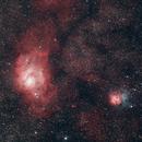 Laguna and Trifid Nebula,                                JuanmaRivero