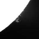 Solar prominence 20161201,                                Sergio Alessandrelli
