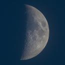 The Moon through a 300mm lens,                                Nplus1