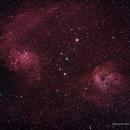 IC410 & IC405 Flaming Star Nebula &The Tadpoles,                                John