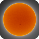Sun - AR12814 - Full Disc and Prominence - 14 April 2021,                                Roberto Botero
