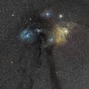 Rho Ophiuchi Cloud Complex 135mm,                                Astro Jim