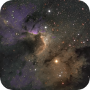 Sh2-155, The Cave Nebula, CROP version,                                Brice
