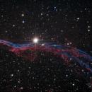 Western Veil Nebula,                                Morris Yoder