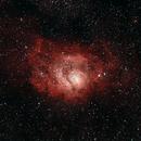 M8 - Lagoon Nebula,                                David Augros