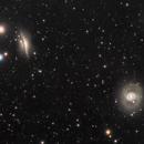 NGC 1055 + NGC 1068,                                Richard Pattie