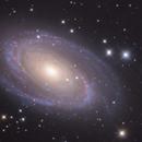 M81 - Bode's galaxy,                                Satwant Kumar