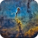 IC 1396 & Barnard163 en SHO Zoom,                                Georges