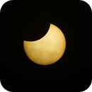 Partial eclipse from Scotland,                                Geoff Smith