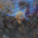 The Mystic Mountains of the Carina Nebula,                                Samara