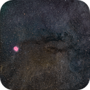 Cocoon Nebula wide-field (HaRGB),                                Chris Heapy