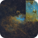 Pillars of creation (crop from a 530mm image),                                Benoit Gagnon