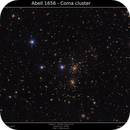 Abell 1656 - Coma Cluster,                                Brice Blanc
