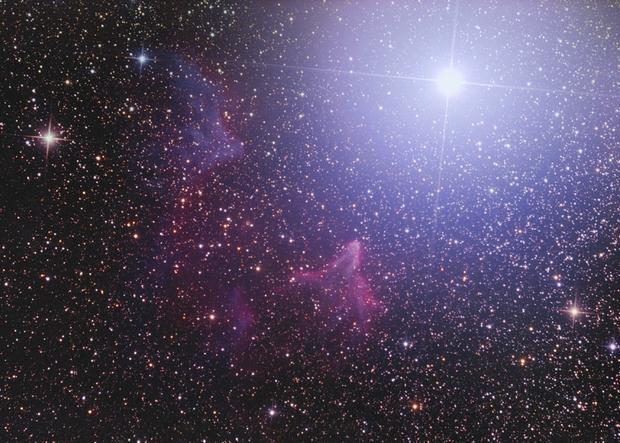 IC 59 & IC 63 Ghost Nebula in Cassiopeia,                                Bernhard Zimmermann