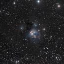 NGC 7129,                                Darkestskiesdotcom