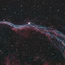 Veil nebula, NGC6960,                                Mike Carroll