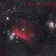 Orion widefield Ha-RGB,                                Francisco