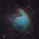 NGC 281, the Pacman Nebula in Narrowband,                                Rudolf Bumm