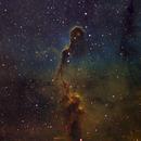 """Elephant's Trunk"" nebula in HST palette,                                Gordon Haynes"