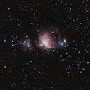 M42 - The Great Orion Nebula (2015-01-14),                                mostlyemptyspace