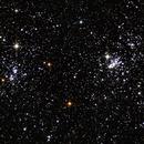 h Persei (Double Amas de Persée) - NGC 869/884 - C 14 - Cr 24 - Melotte 13,                                Daniel Beaulieu
