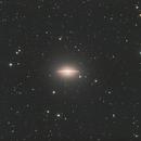 Messier 104 - Sombrero - LUM,                                Eric Walden