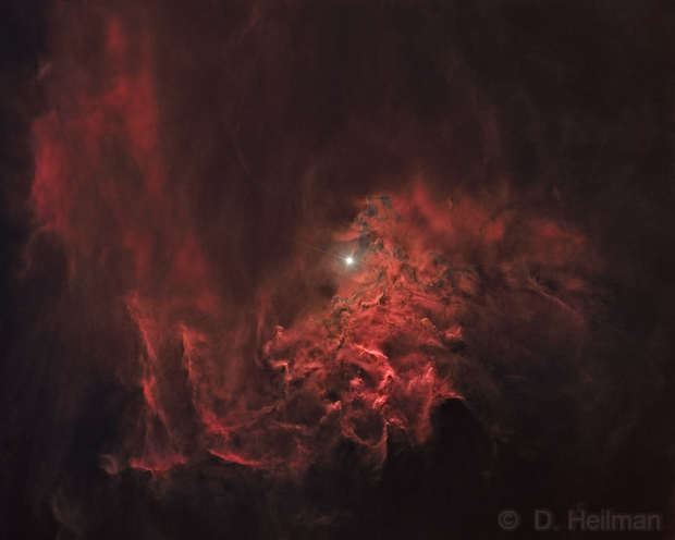 Starless IC405 (second version with stars),                                dheilman