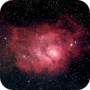 Lagoon nebula M8,                                Marco Schrievers