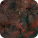 Elephant Trunk Nebula mosaic with duoband filter,                                drgomer